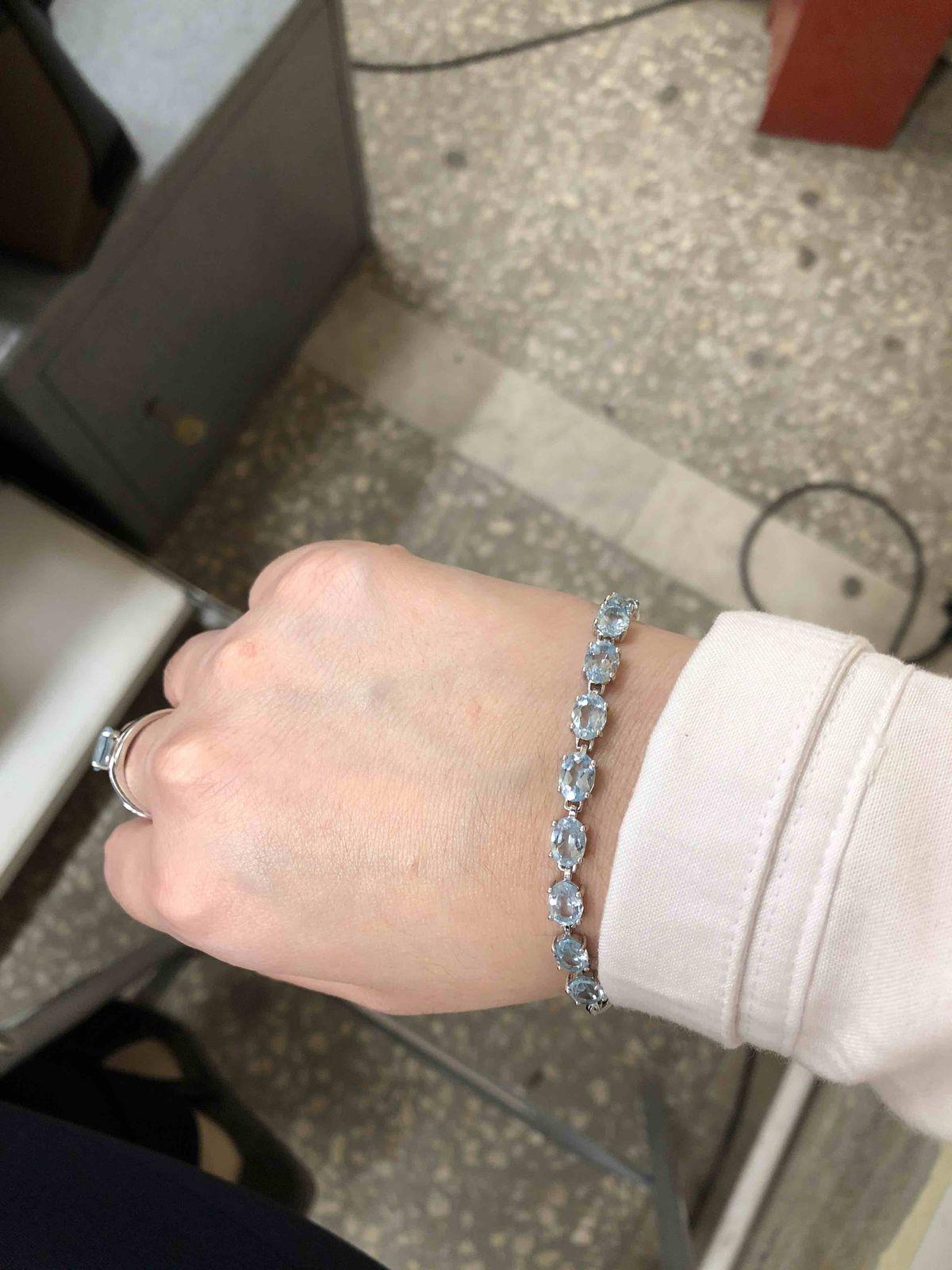 Топазовый браслет