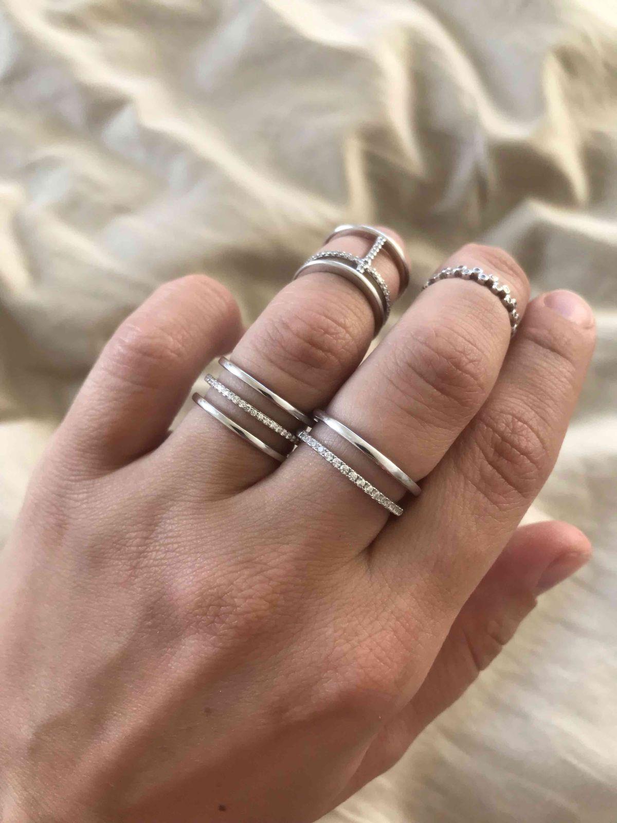 Двойное кольцо.