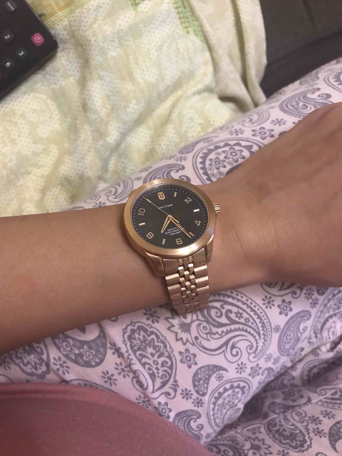 😍мужские часы бронза