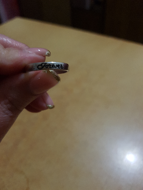 Кольцо с черной керамикой