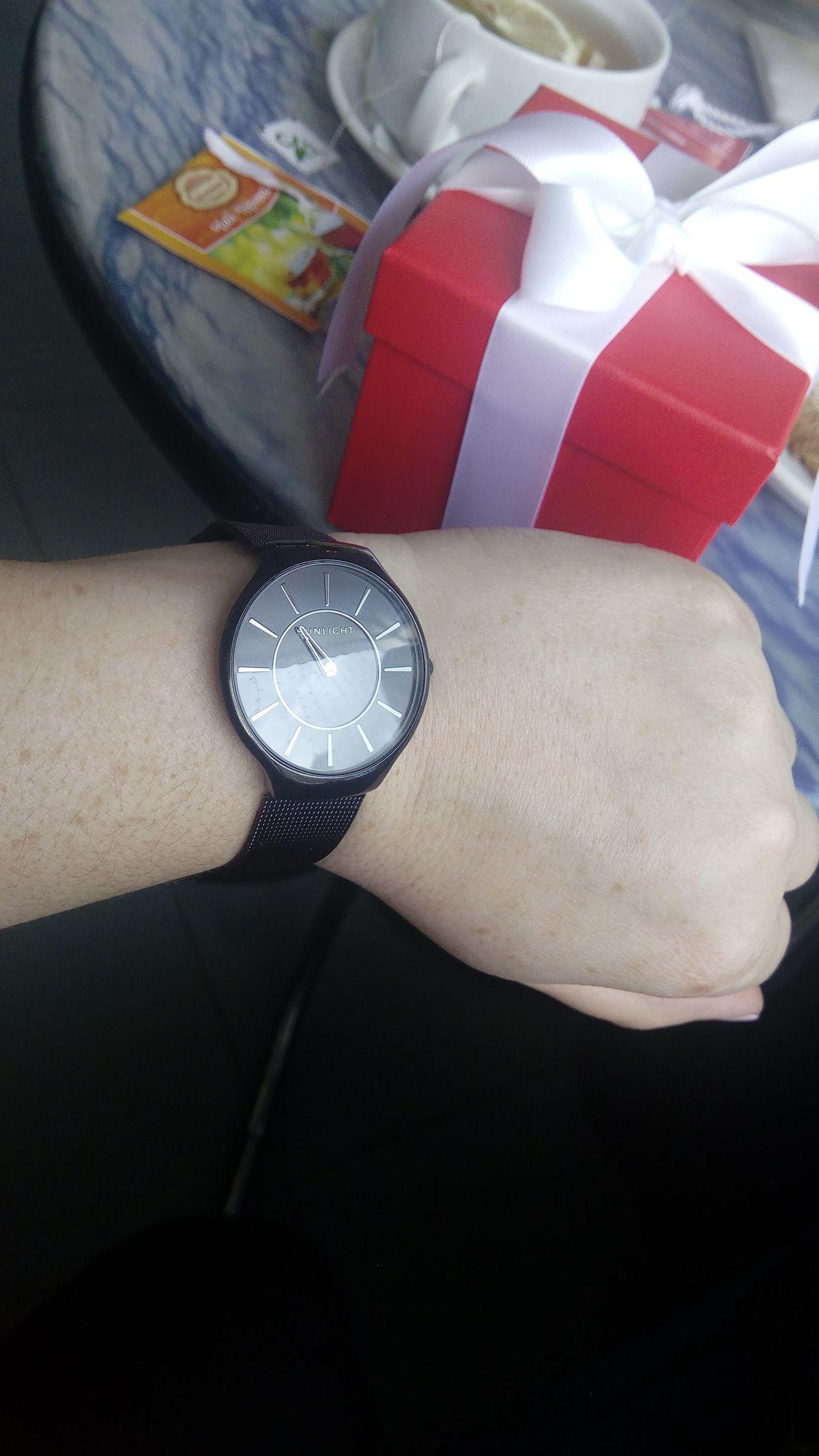 Заказала часы онлайн, но не честно, боялась, как вживую