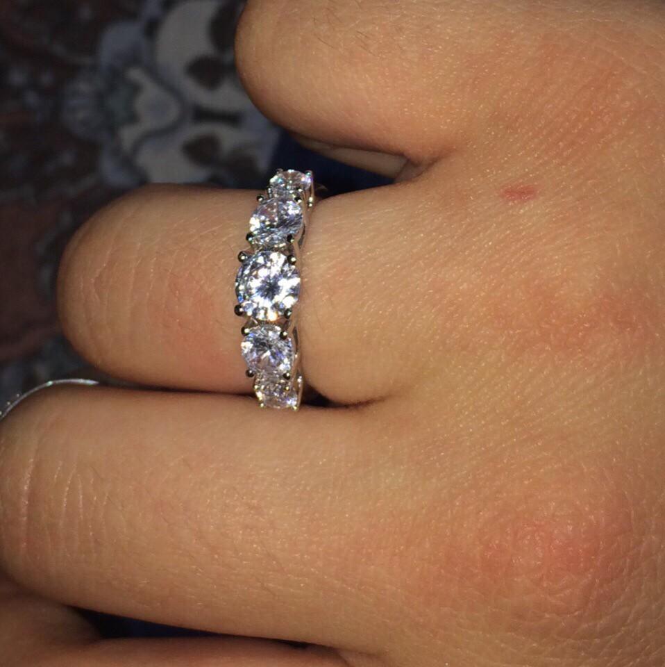 Шикарное серебряное кольцо!