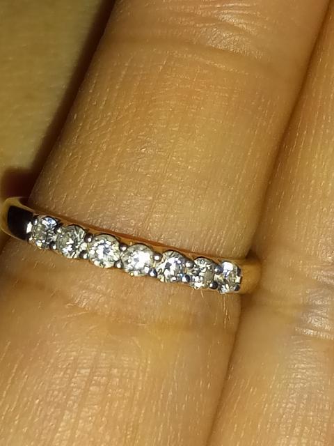 Потрясающее кольцо дорожка