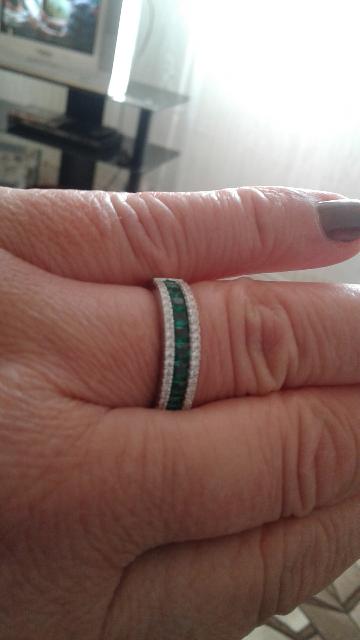 Шикарное кольцо,большое спасибо за совет продавцу.