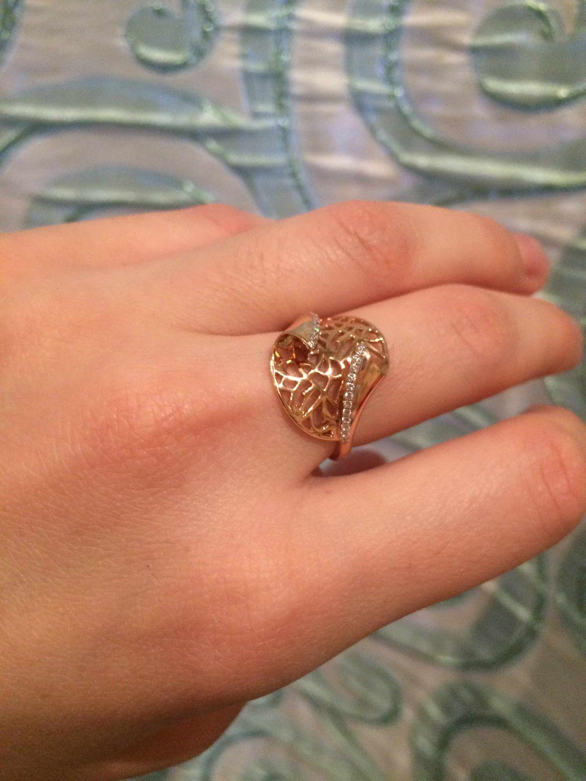 Классное золотое кольцо!