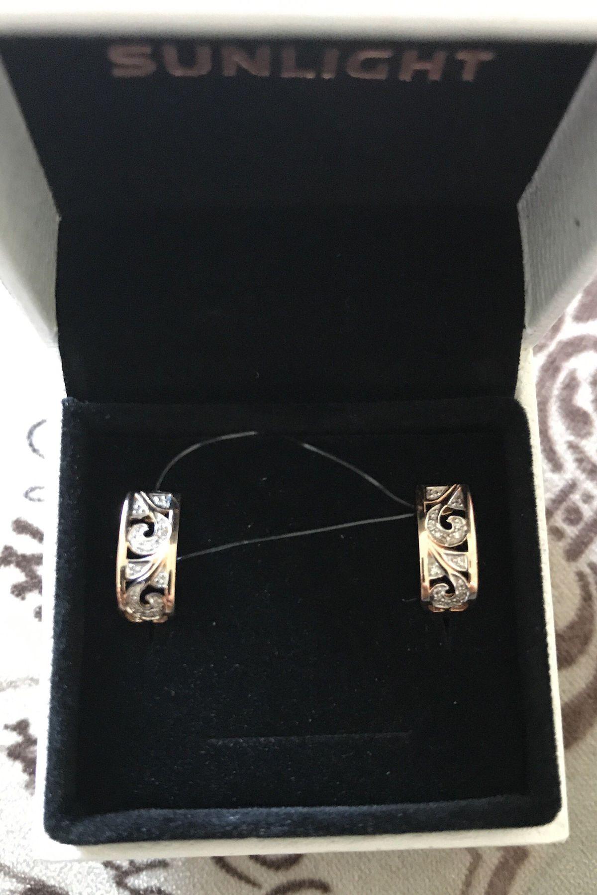 Нежные сережки