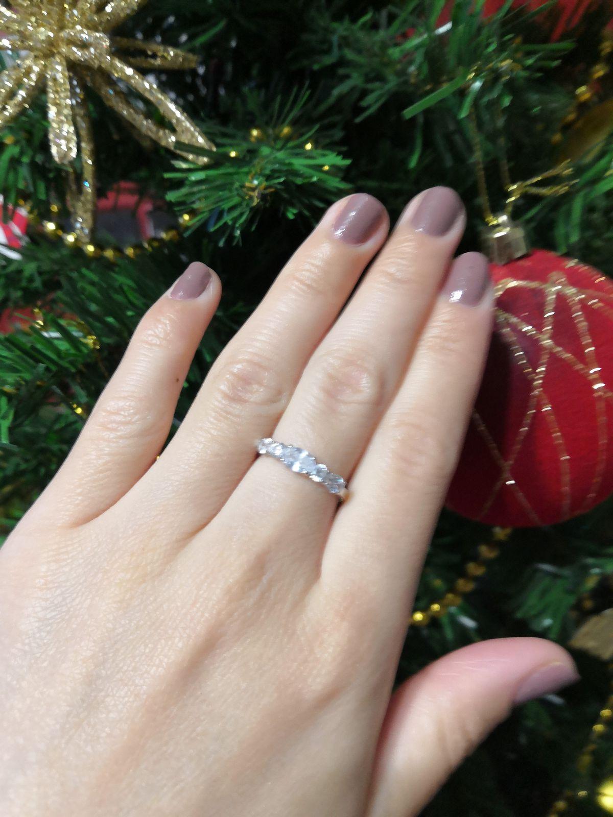 Очень красивое кольцо. Смотрится супер