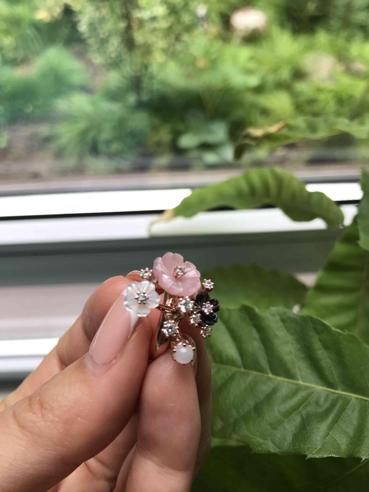 Кольцо из коллекции «Райский сад»