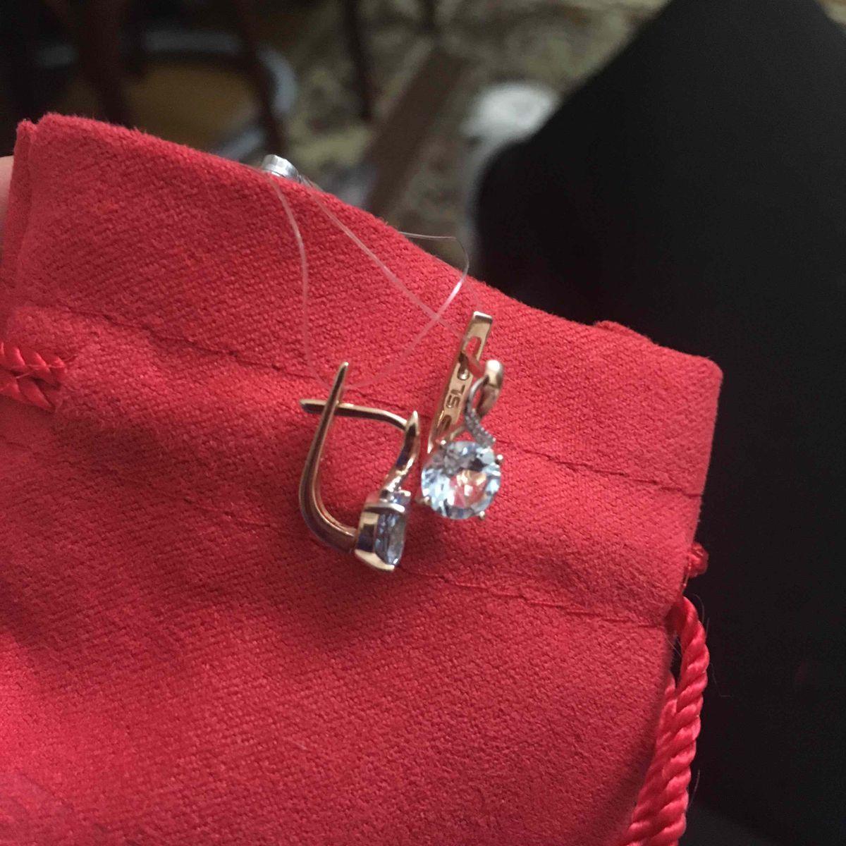 Супер миниатюрные сережки
