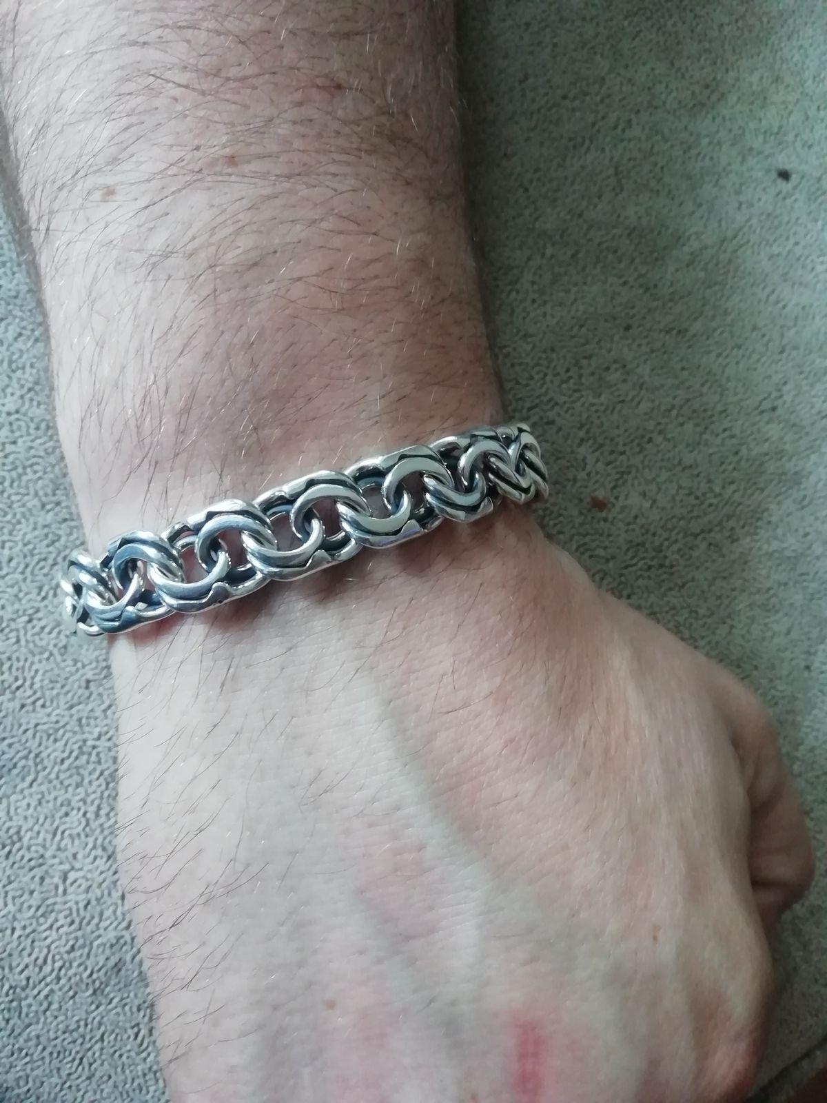 Брутальный браслет