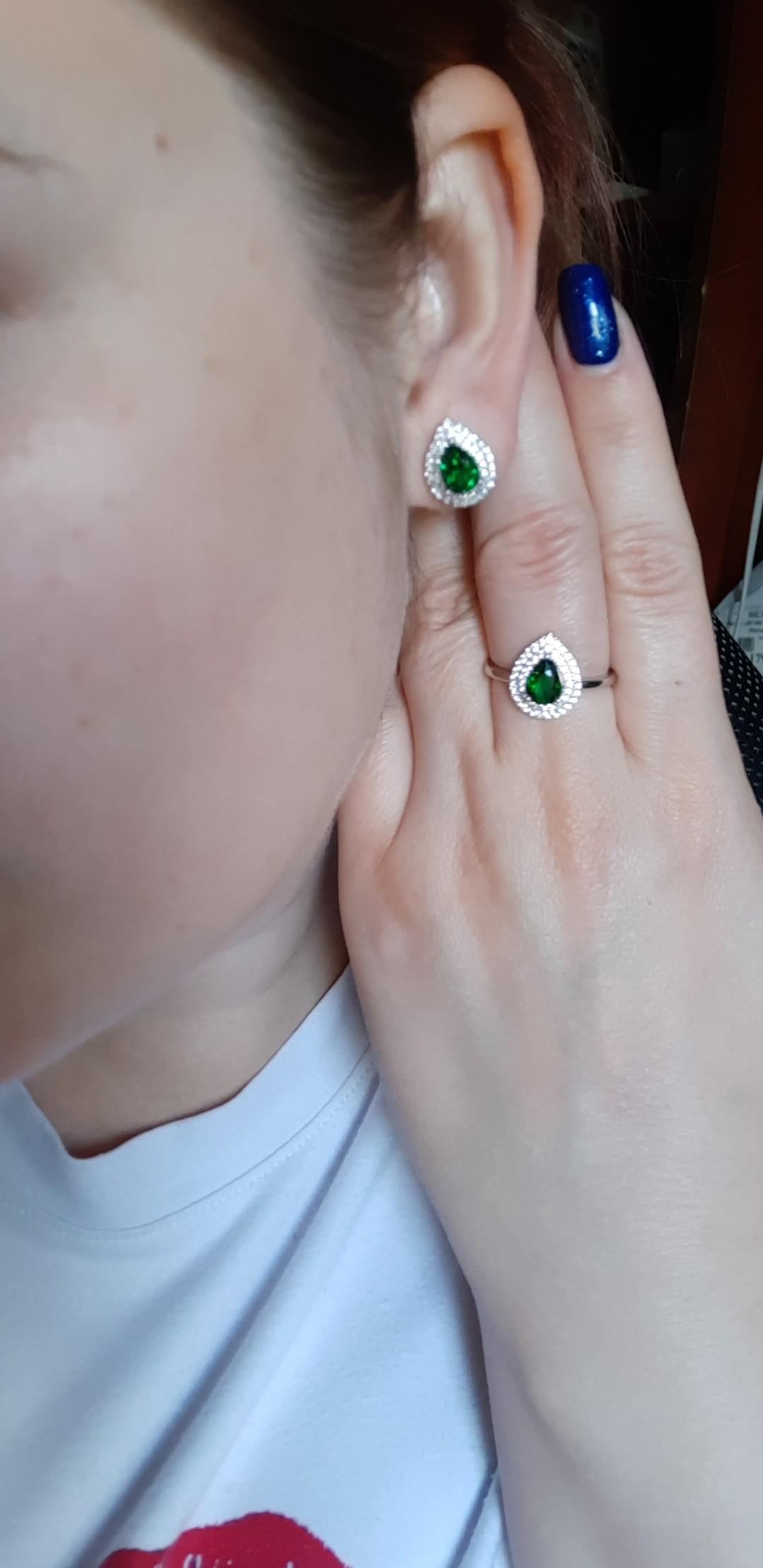 Купила в паре с кольцом
