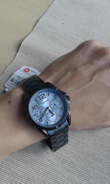 Первые часы из санлайта