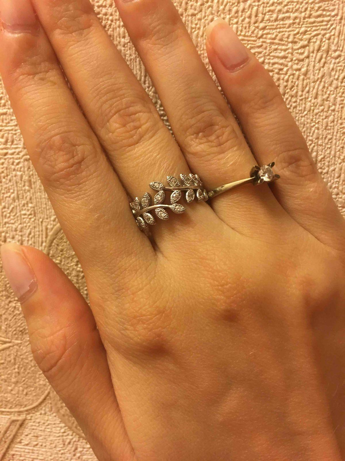 Красивое и нежное кольцо, не подобрать слов.