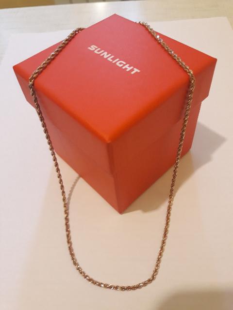 Золотая цепочка из итальянской коллекции