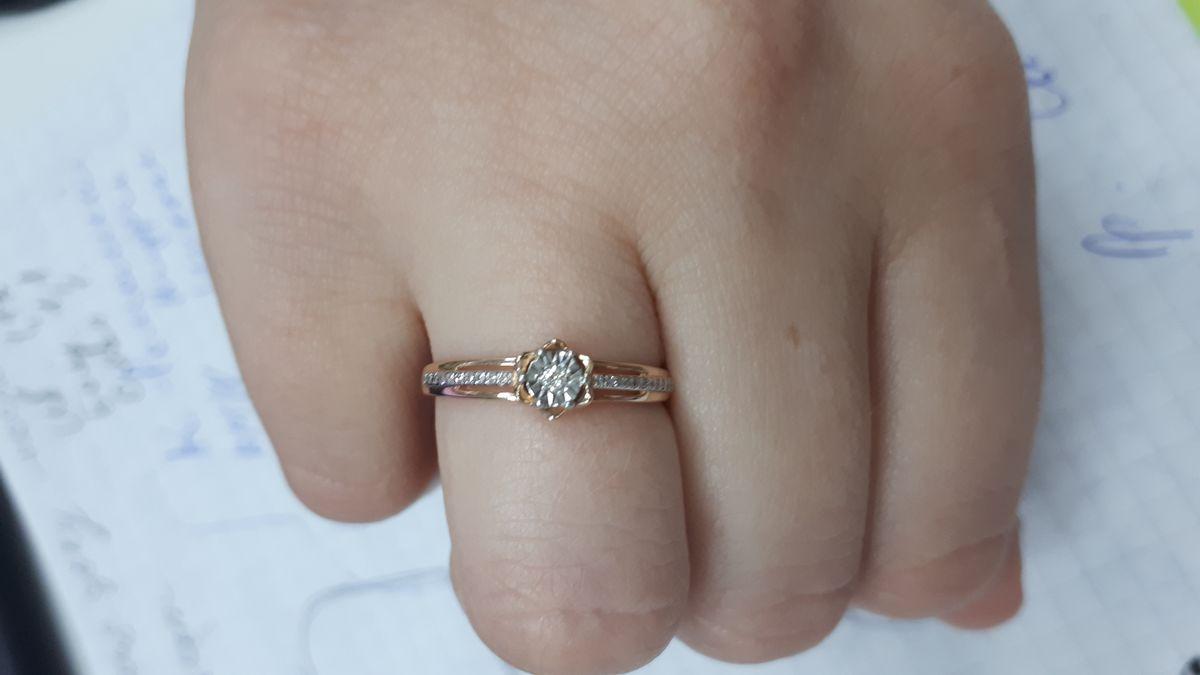 Это потрясающее кольцо