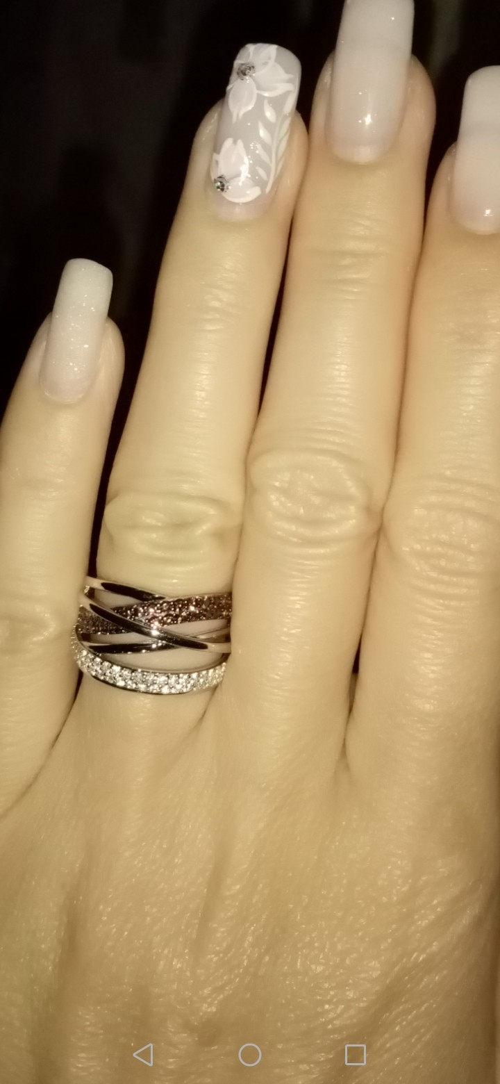 Изящное кольцо!!!