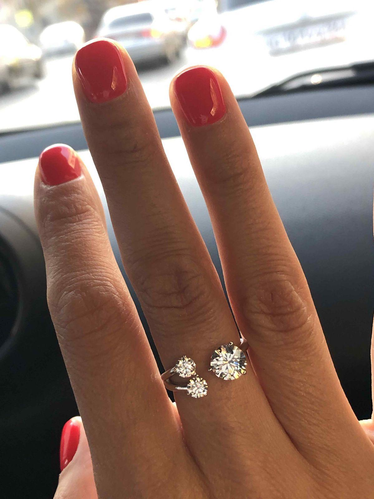 Стильное и роскошное кольцо