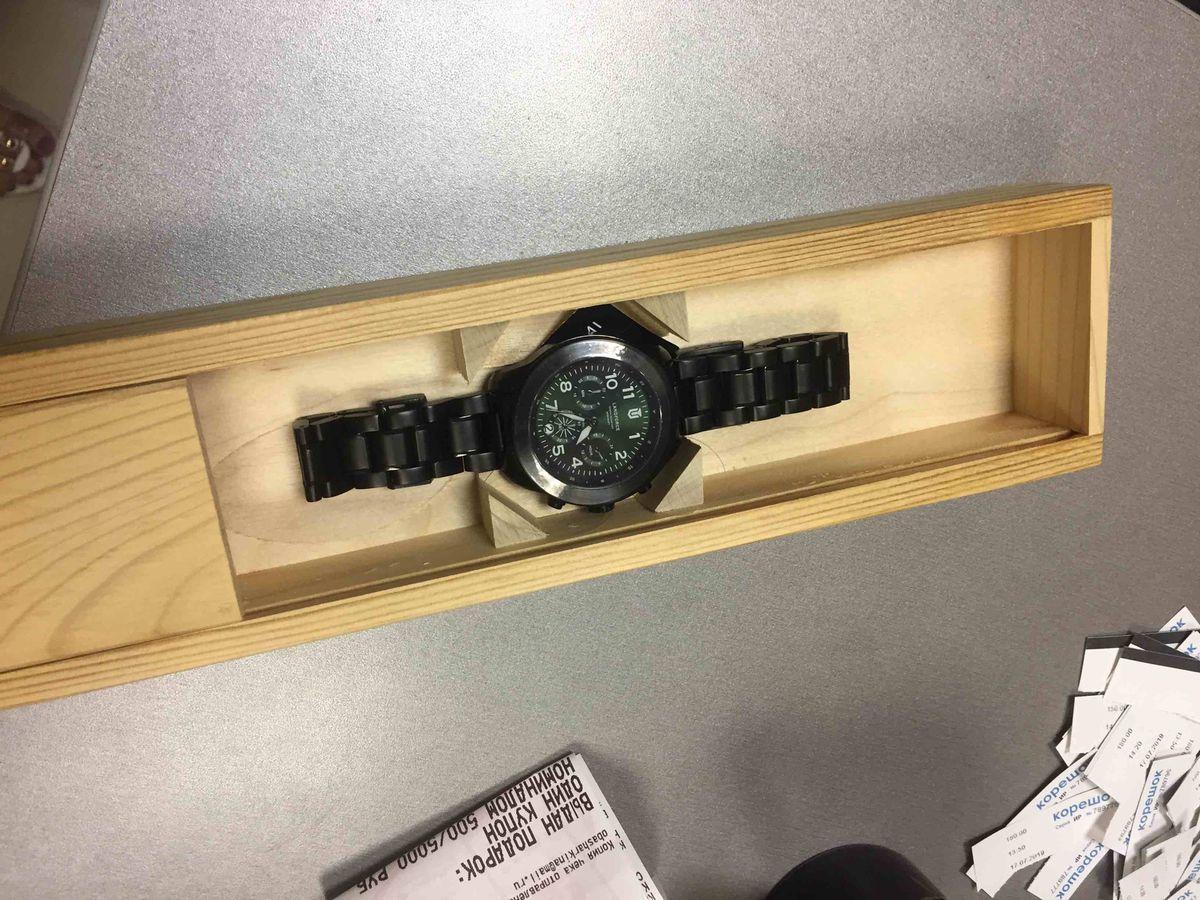 Часики крутые