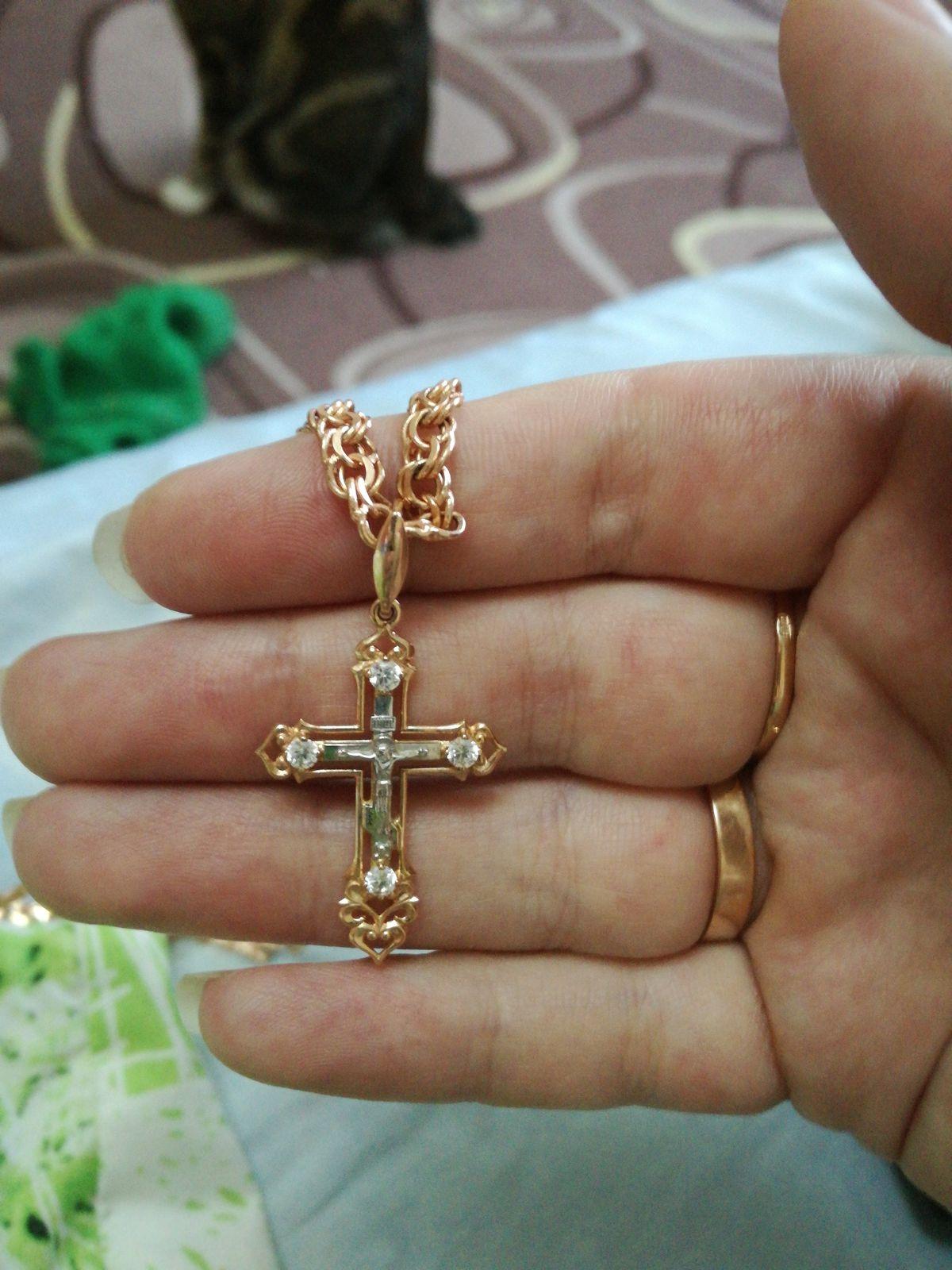 Утонченный крестик