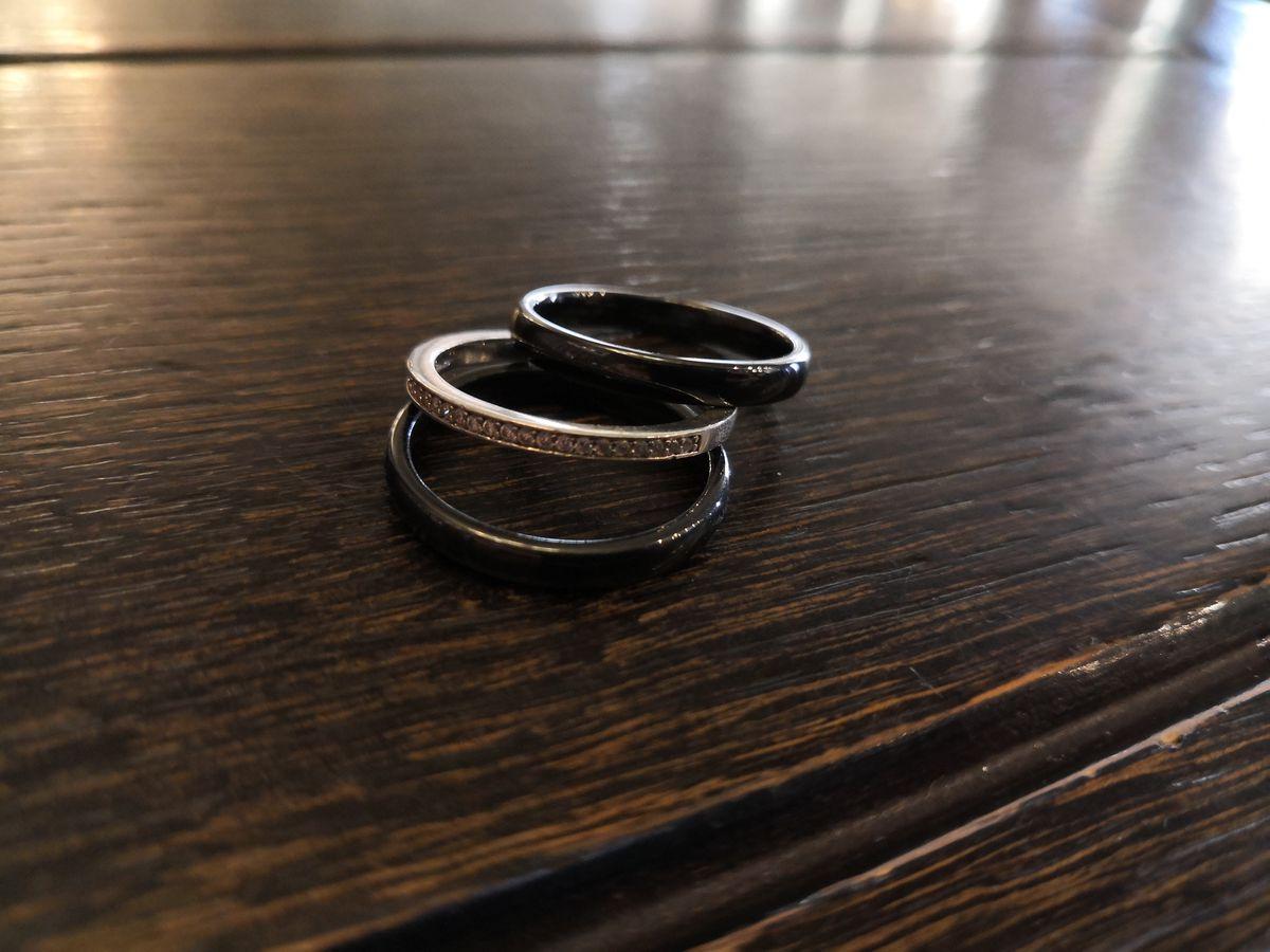 Кольцо - тройка