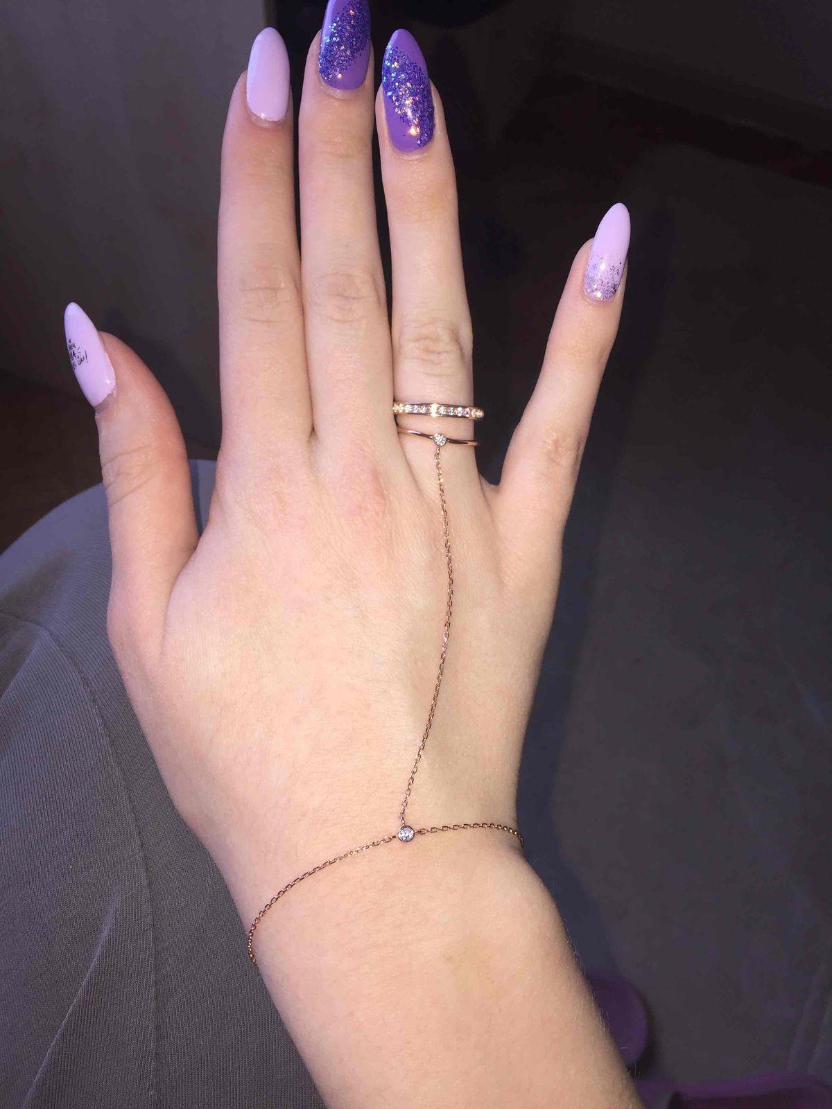 Очень красивый браслет-кольцо