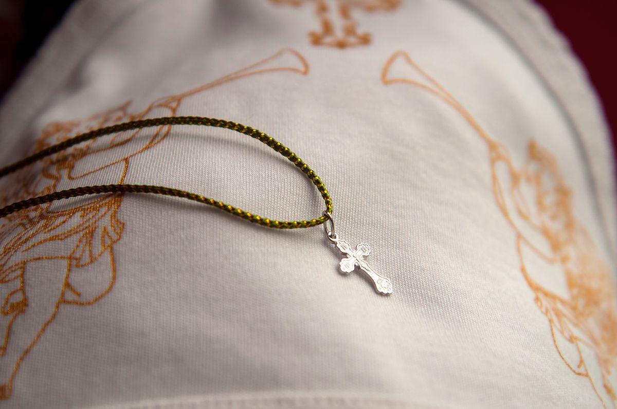 Крестик детский